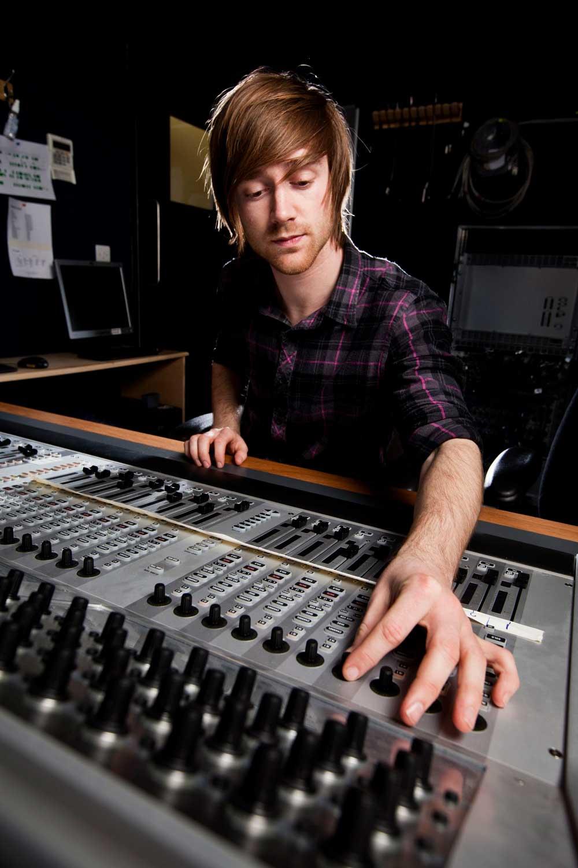 producción de audio